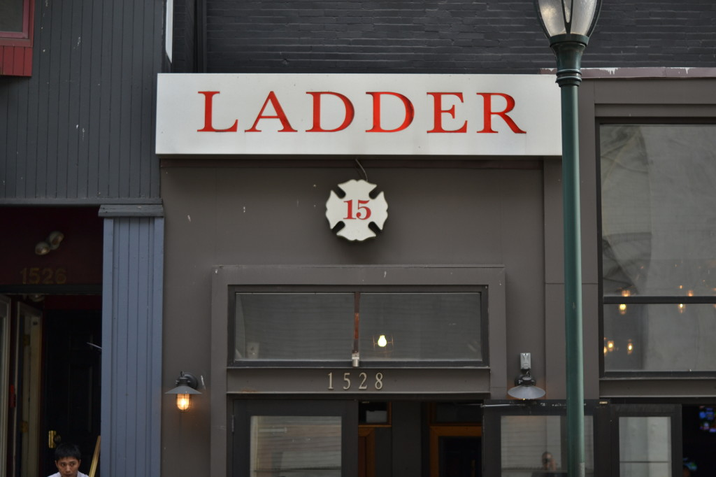 An informal gathering of nonprofit executives was held at Ladder 15.